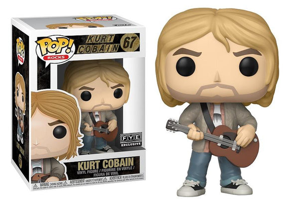 Pop! Rocks - Kurt Cobain [Leather Jacket] (FYE Exclusive) - Mom's Basement Collectibles