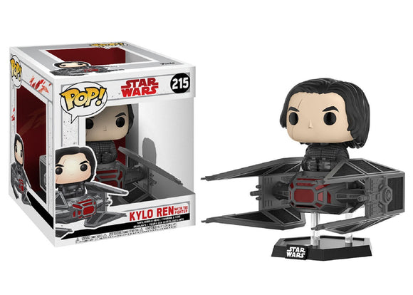 Pop! Star Wars - Kylo Ren with TIE Fighter - Mom's Basement Collectibles