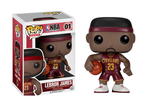 Pop! NBA - LeBron James [Red] - Mom's Basement Collectibles