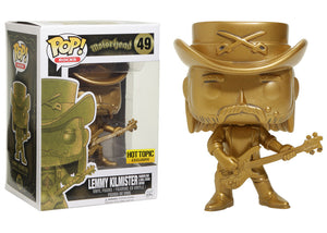 Pop! Rocks: Motorhead - Lemmy Kilmister [Statue Edition] (Hot Topic Exclusive) *DAMAGED* - Mom's Basement Collectibles