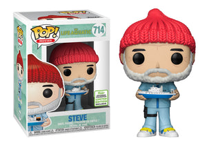 Pop! Movies: Life Aquatic of Steve Zissou - Steve Zissou (Spring Convention Exclusive 2019) - Mom's Basement Collectibles