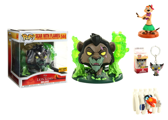Pop! Disney: The Lion King Box (Hot Topic Exclusive) - Mom's Basement Collectibles