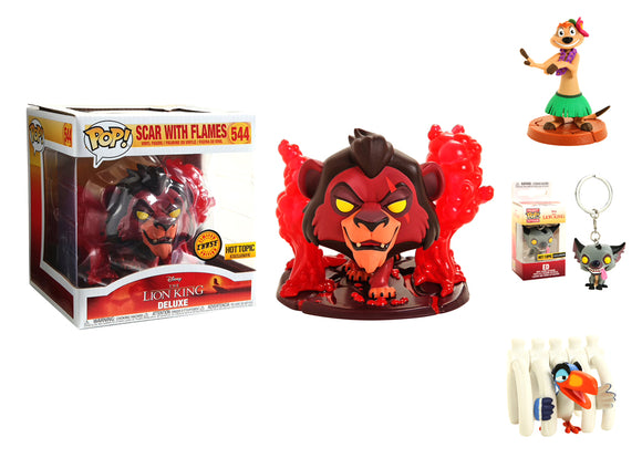 Pop! Disney: The Lion King Box (Hot Topic Exclusive) CHASE - Mom's Basement Collectibles