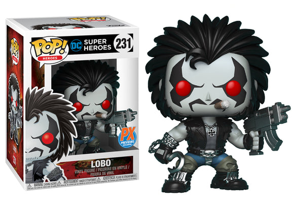 Pop! Heroes - Lobo (PX Exclusive) - Mom's Basement Collectibles