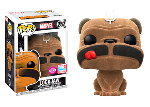 Pop! Marvel - Lockjaw [Flocked] (Fall Convention Exclusive 2017) - Mom's Basement Collectibles