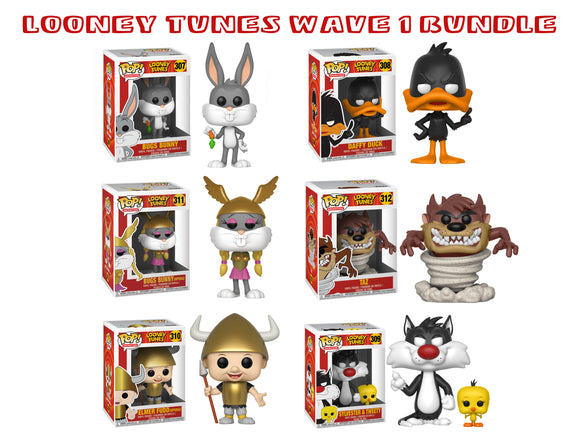 Bundle: Pop! Animation: Looney Tunes Wave 1 - Mom's Basement Collectibles
