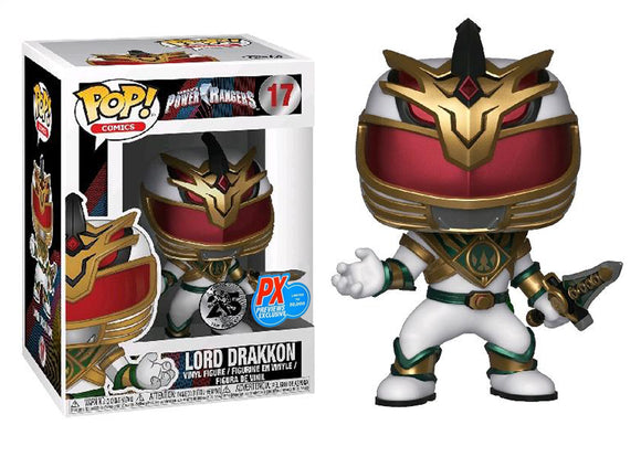 Pop! Comic: Power Rangers - Lord Drakkon (PX Exclusive) - Mom's Basement Collectibles