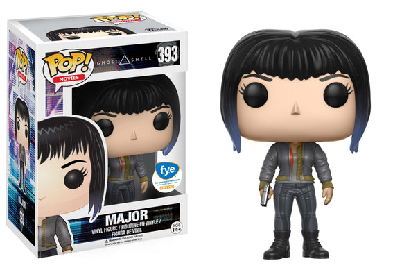 Pop! Movies: Ghost in the Shell - Major (FYE Exclusive) - Mom's Basement Collectibles