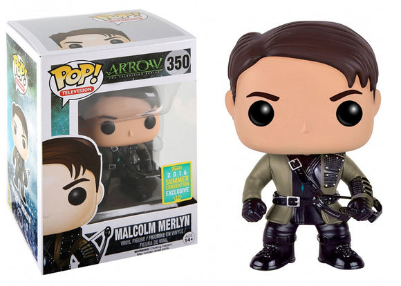 Pop! Television: Arrow - Malcolm Merlyn (Summer Convention Exclusive 2016) - Mom's Basement Collectibles