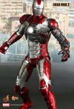Hot Toys: Iron Man 2 - Mark V [Pre-Owned & DAMAGED] - Mom's Basement Collectibles