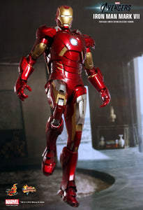 Hot Toys: The Avengers - Iron Man Mark VII [Pre-Owned] - Mom's Basement Collectibles