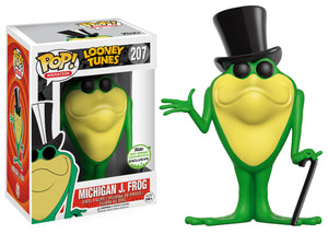 Pop! Animation: Looney Tunes - Michigan J. Frog (Spring Convention Exclusive 2017) *DAMAGED* - Mom's Basement Collectibles
