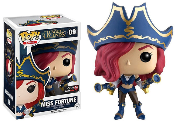 Pop! Games: League of Legends - Miss Fortune (Gamestop Exclusive) - Mom's Basement Collectibles