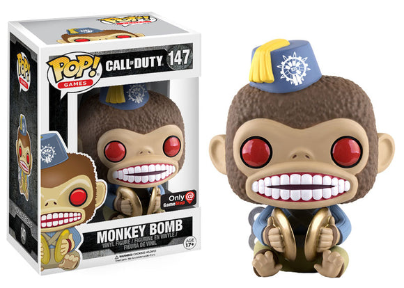 Pop! Games: Call of Duty - Monkey Bomb (Gamestop Exclusive) - Mom's Basement Collectibles