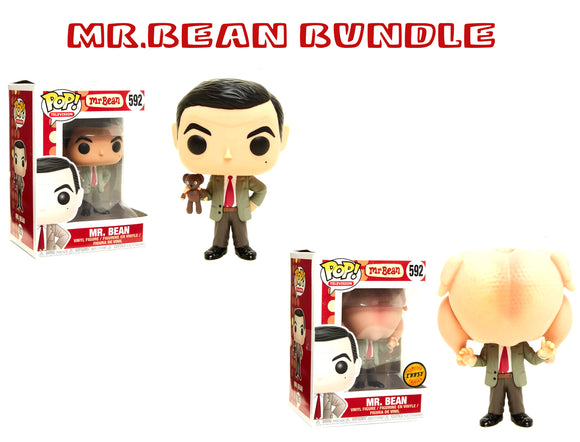 Bundle: Pop! Television: Mr. Bean CHASE - Mom's Basement Collectibles
