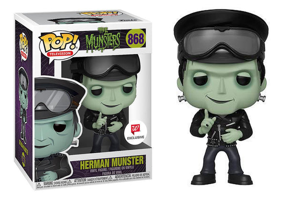 Pop! Television: The Munsters - Herman Munster (Walgreens Exclusive) - Mom's Basement Collectibles