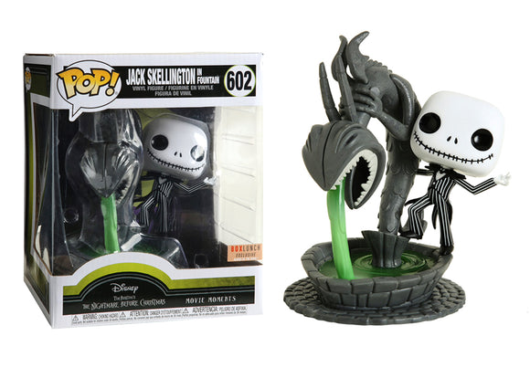 Pop! Movie Moments: Nightmare Before Christmas - Jack Skellington In Fountain (Box Lunch Exclusive) - Mom's Basement Collectibles