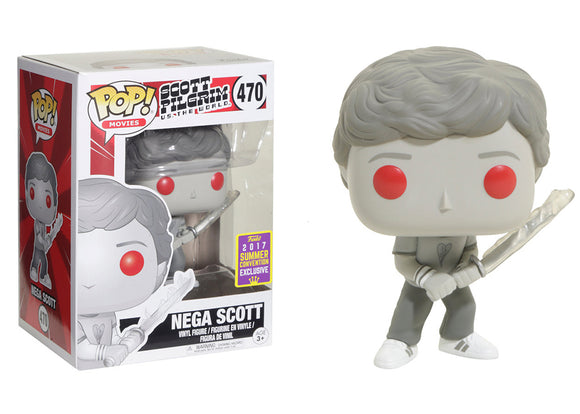 Pop! Movies: Scott Pilgrim VS the World - Nega Scott (Summer Convention Exclusive 2017) - Mom's Basement Collectibles