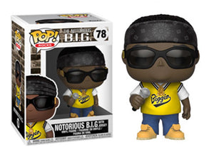 Pop! Rocks: Notorious BIG [Jersey] - Mom's Basement Collectibles