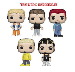 [PRE-ORDER] Bundle: Pop! Rocks: NSYNC Set - Mom's Basement Collectibles