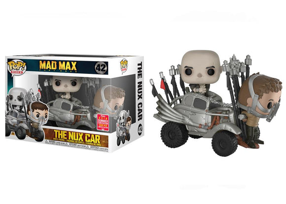 Pop! Rides: Mad Max Fury Road - The Nux Car (Summer Convention Exclusive 2018) - Mom's Basement Collectibles