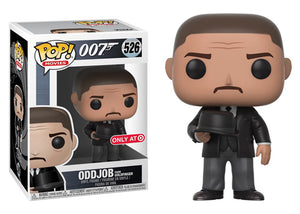 Pop! Movies: 007 - Oddjob [Goldfinger] (Target Exclusive) - Mom's Basement Collectibles