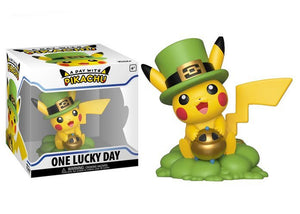 A Day with Pikachu: One Lucky Day Pikachu Figure - Mom's Basement Collectibles