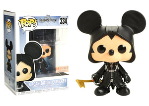Pop! Disney: Kingdom Hearts - Organization 13 Mickey (Box Lunch Exclusive) - Mom's Basement Collectibles