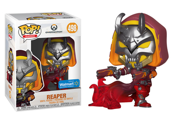 Pop! Games: Overwatch - Reaper [Hell Fire] (Walmart Exclusive) - Mom's Basement Collectibles