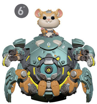 [PRE-ORDER] Pop! Games: Overwatch - Wrecking Ball - Mom's Basement Collectibles