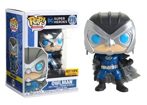 Pop! Heroes - Owlman (Hot Topic Exclusive) - Mom's Basement Collectibles