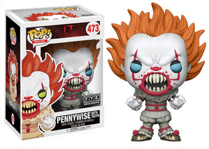 Pop! Movies: It - Pennywise with Teeth (FYE Exclusive) *DAMAGED* - Mom's Basement Collectibles