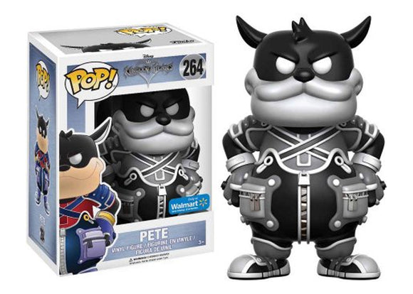 Pop! Disney: Kingdom Hearts - Pete (Walmart Exclusive) - Mom's Basement Collectibles