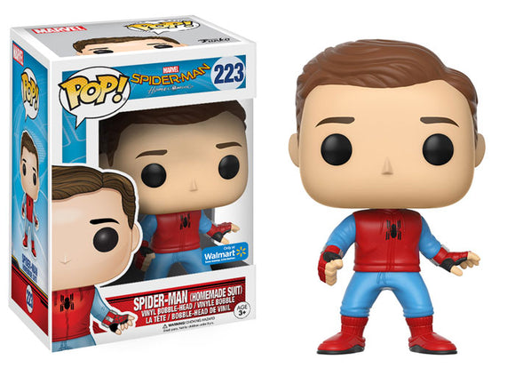 Pop! Marvel: Spider-Man Homecoming - Peter Parker (Walmart Exclusive) - Mom's Basement Collectibles