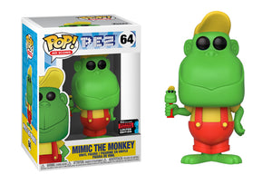 Pop! Ad Icons: Pez - Mimic the Monkey (Fall Convention Exclusive 2019) - Mom's Basement Collectibles