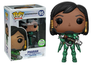 Pop! Games: Overwatch - Pharah [Emerald] (Spring Convention Exclusive 2017) - Mom's Basement Collectibles