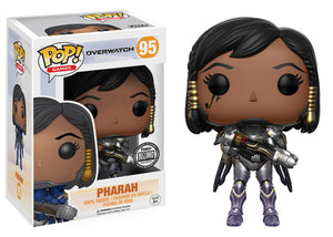 Pop! Games: Overwatch - Pharah [Titanium] (Blizzard Exclusive) - Mom's Basement Collectibles
