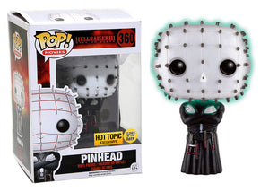 Pop! Movies: Hellraiser III Hell on Earth - Pinhead [GITD] (Hot Topic Exclusive) - Mom's Basement Collectibles
