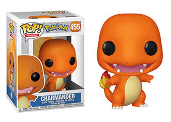 Pop! Games: Pokemon - Charmander - Mom's Basement Collectibles