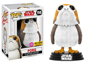 Pop! Star Wars - Porg [Flocked] (Hot Topic Exclusive) - Mom's Basement Collectibles
