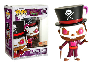Pop! Disney: Princess & The Frog - Dr. Facilier [Masked] (Box Lunch Exclusive) - Mom's Basement Collectibles