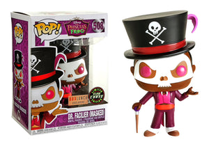 Pop! Disney: Princess & The Frog - Dr. Facilier [Masked] (Box Lunch Exclusive) (GITD Chase) - Mom's Basement Collectibles