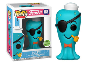 Pop! Funko - Pulpo [Blue] (Spring Convention Exclusive 2018) - Mom's Basement Collectibles