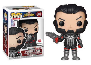 Pop! Games: Marvel Contest Of Champions - Punisher 2099 - Mom's Basement Collectibles