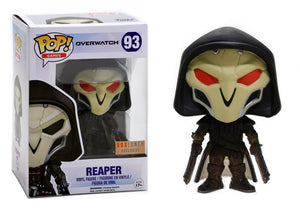 Pop! Games: Overwatch - Reaper [Shadow Step] (Box Lunch Exclusive) - Mom's Basement Collectibles