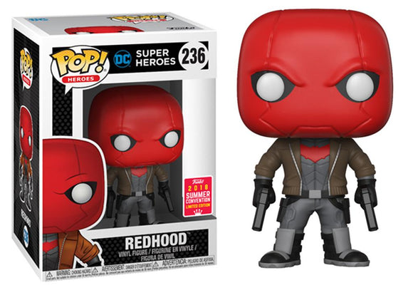 Pop! Heroes - Red Hood (Summer Convention Exclusive 2018) - Mom's Basement Collectibles
