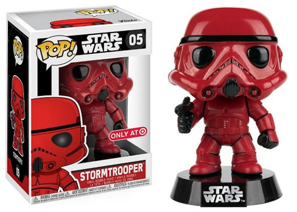Pop! Star Wars - Stormtrooper [Red] (Target Exclusive) - Mom's Basement Collectibles