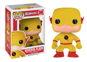 Pop! Heroes - Reverse Flash - Mom's Basement Collectibles
