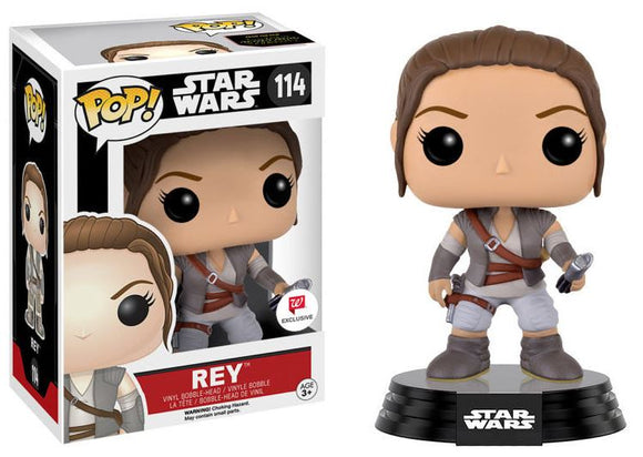 Pop! Star Wars - Rey [With Lightsaber Hilt] (Walgreens Exclusive) - Mom's Basement Collectibles