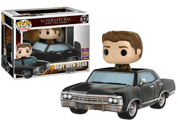 Pop! Rides: Supernatural - Baby With Dean (Summer Convention Exclusive 2017) - Mom's Basement Collectibles